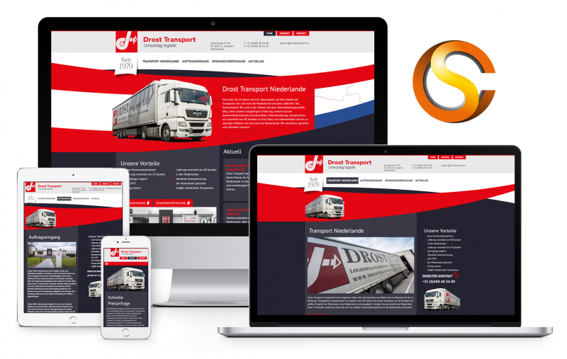 Lancering tweede website www.drosttransport.at